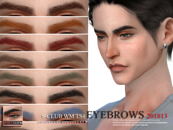 S-Club WM ts4 Eyebrows 201813