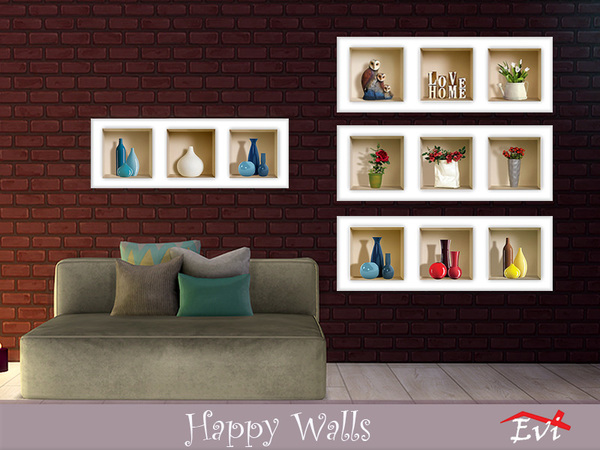 Happy Walls by evi