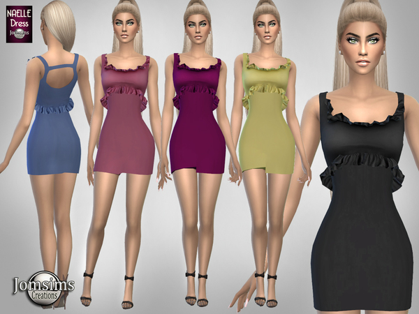 naelle dress by jomsims