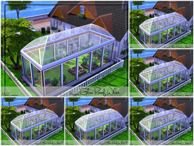 Glass Roof White by MahoCreations