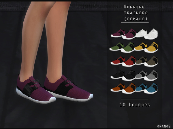 Running Trainers (Female) by OranosTR