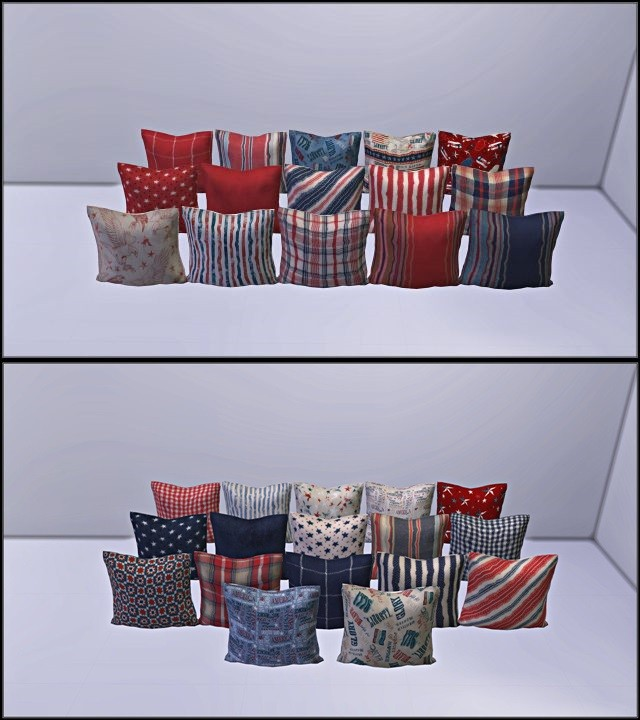 32 recolors of miosims pillow conversion by TaTschu