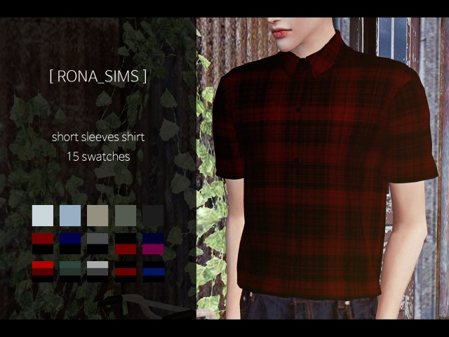 short sleeves shirt by RONA