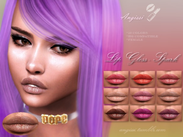 Lip Gloss - Spark by ANGISSI