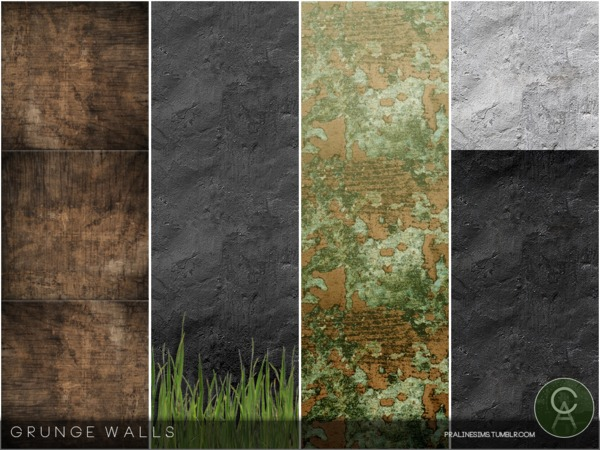 Grunge Walls by Pralinesims