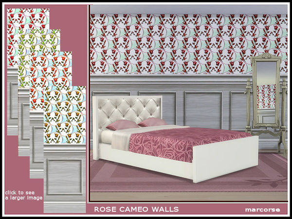 Rose Cameo Walls_marcorse