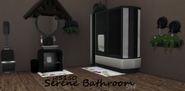 Serene Bathroom Set by sg5150