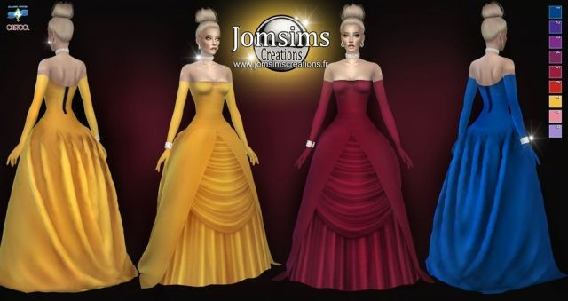 AREDREEVA dress by jomsims