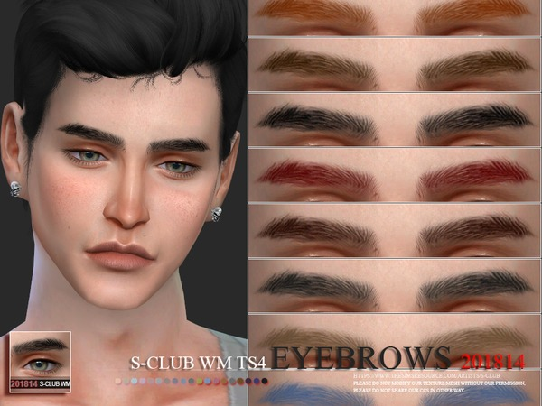 S-Club WM ts4 Eyebrows 201814