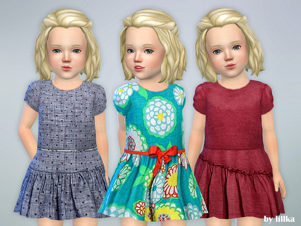 Toddler Dresses Collection P67 by lillka