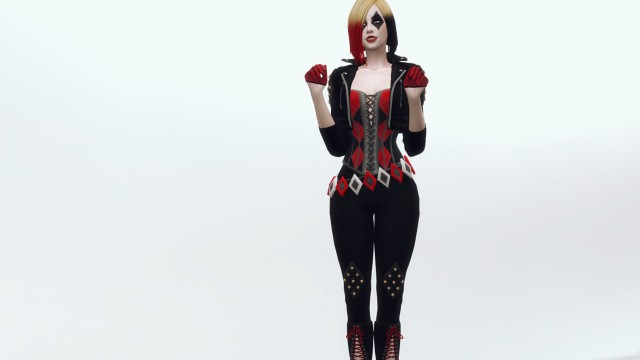 Character - Harley Quinn from Batman: The Enemy Within by Plazasims