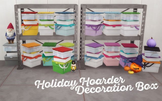 Holiday Hoarder Decoration Box by HamburgerCakes
