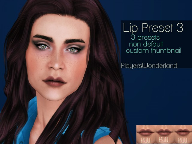 Lip Preset 03 by PlayersWonderland