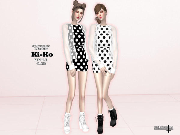 KIKO - See-through jacket n' dress - Outfit by Helsoseira