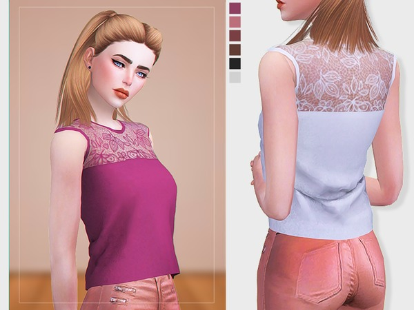 [ Lace Top ] - Blouse by Screaming Mustard