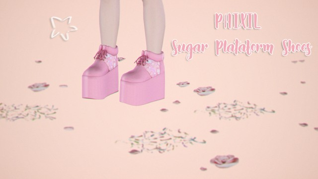 PHIXIL Sugar Plataform Shoes by vil-lain