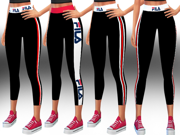 Fila Athletic and Casual Leggings by Saliwa