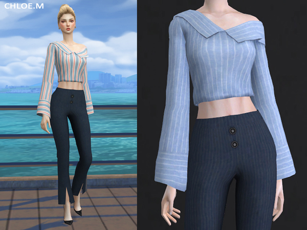 Blouse for female 04 by ChloeMMM