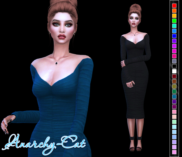 Sentate Marina Dress by Anarchy-Cat