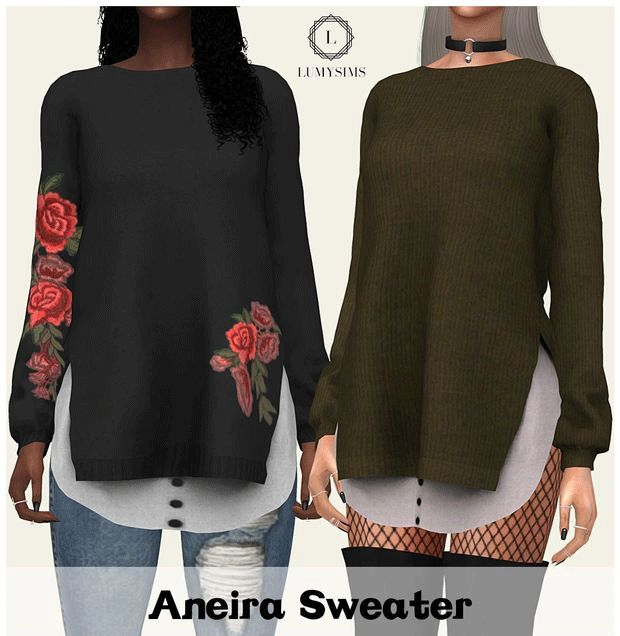 Aneira Sweater by Lumy-Sims