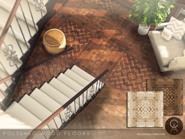 Polished Wood Floors by Pralinesims