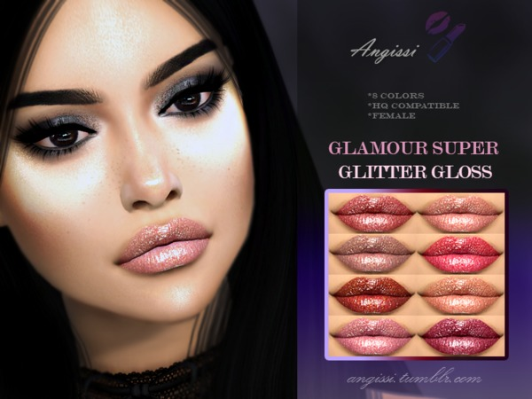GLAMOUR SUPER GLITTER GLOSS by ANGISSI