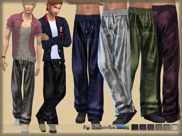 Pants Satin by bukovka