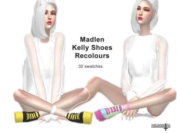 Madlen Kelly Shoes Recolour - Need Mesh by Helsoseira