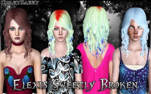 Elexis Sweetly Broken by chazybazzy