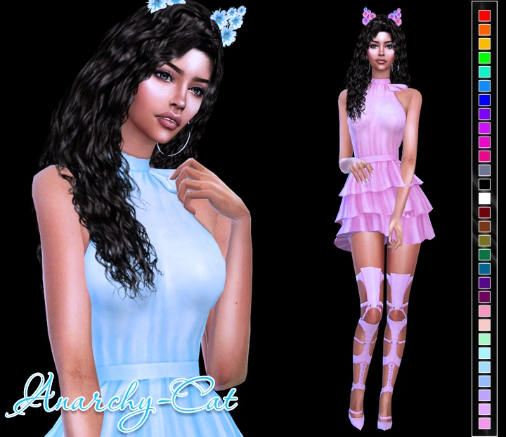 Sentate Priya Dress by Anarchy-Cat