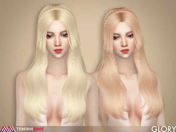 Glory ( Hair 64 ) by TsminhSims