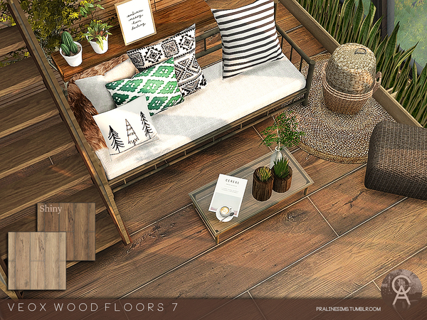 VEOX Wood Floor 7 by Pralinesims