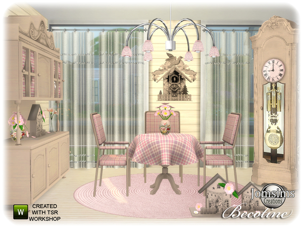 Becotine dining room by jomsims