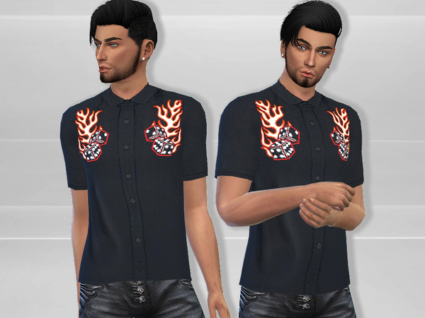 Embroidered Shirt by Puresim