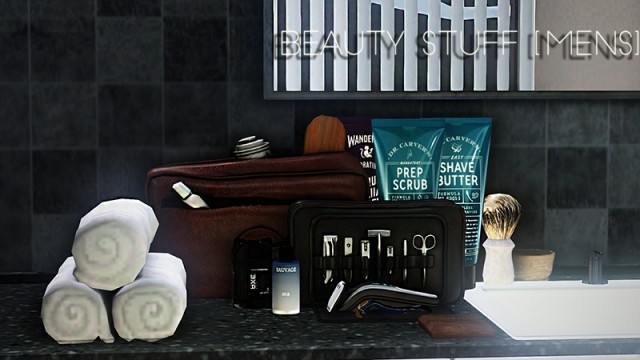 Beauty Stuff [Mens] by Pottery-sims