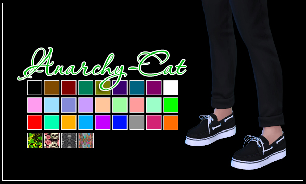 Leo classic shoes (Male) by Anarchy-Cat