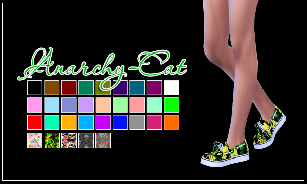 Leo classic shoes (Female) by Anarchy-Cat