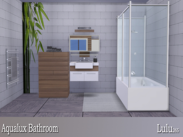 Aqualux Bathroom  by Lulu265