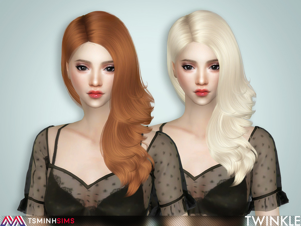 Twinkle ( Hair 65 ) by TsminhSims