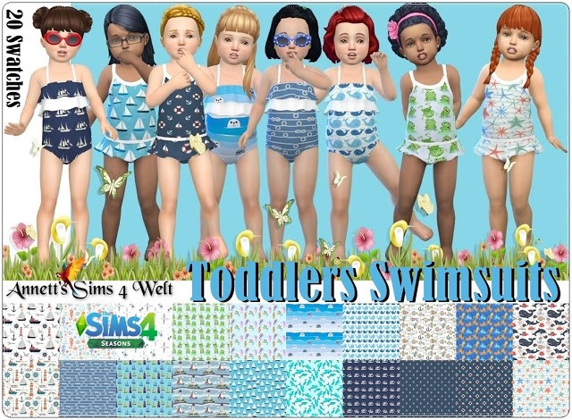 Toddlers Swimsuits Seasons by Annett85