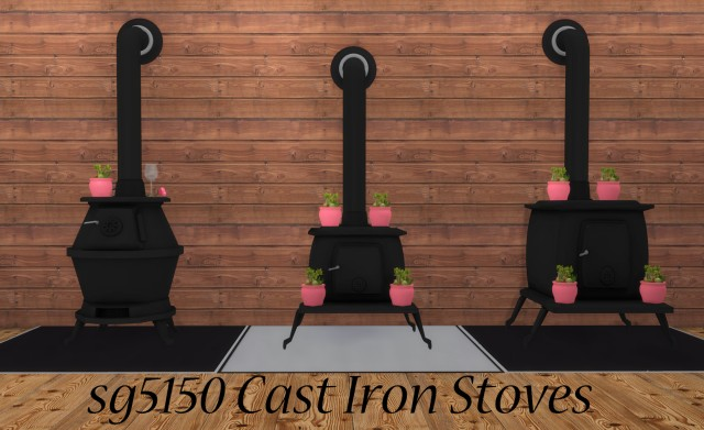 Cast Iron Stoves by sg5150