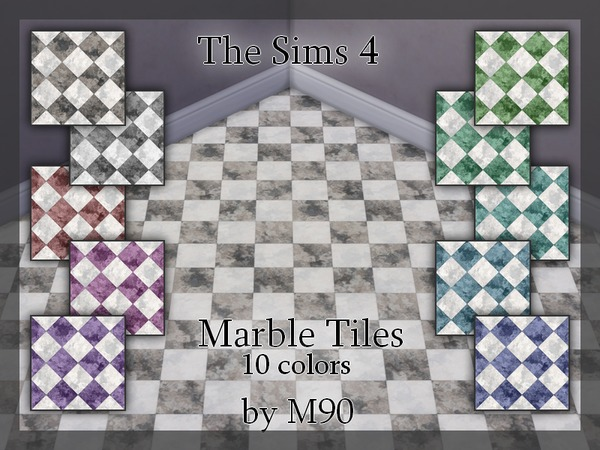 M90 Marble Tiles by Mircia90
