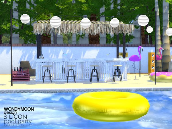 Silicon Pool Party - Part I by wondymoon