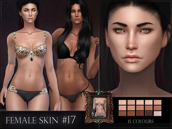 Female Skin 17 by RemusSirion