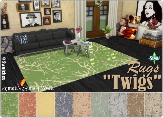 Twigs Rugs by Annett85