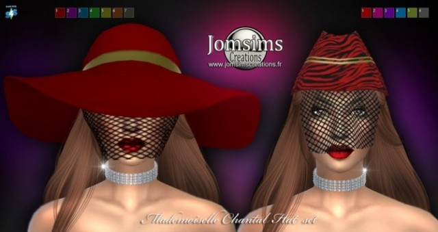 Mademoiselle chantal hat SET by Jomsims