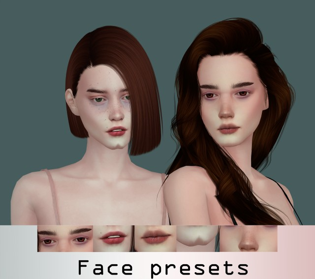 Female presets by shsims