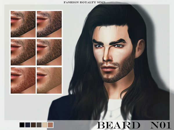 FRS Beard N01 by FashionRoyaltySims