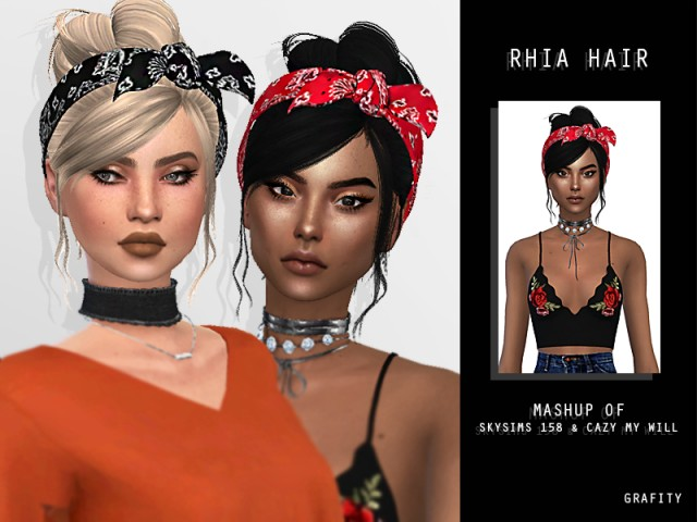 RHIA HAIR by Arthurlumierecc