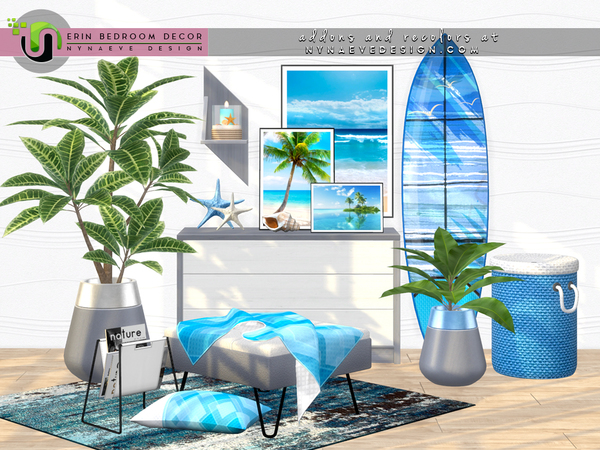 Erin Bedroom Decor by NynaeveDesign